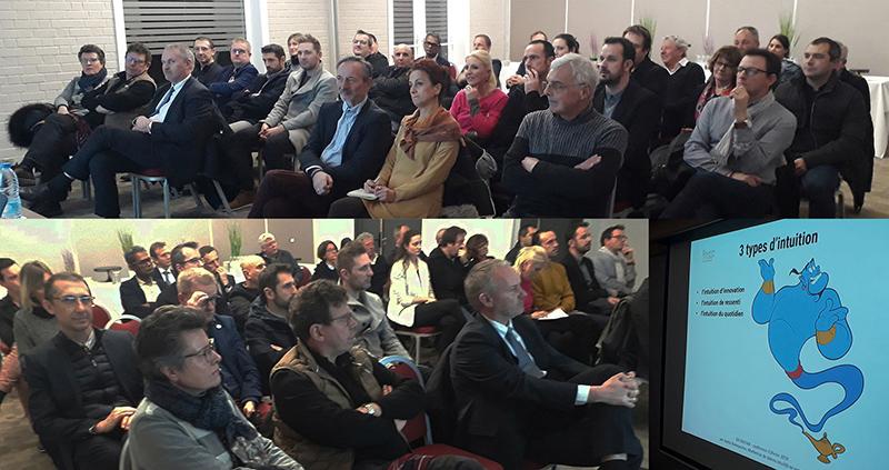 public conférence DELTAVENIR sur l'intuition en entreprise