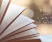 interview d'Alexandra Brunbrouck sur l'intuition
