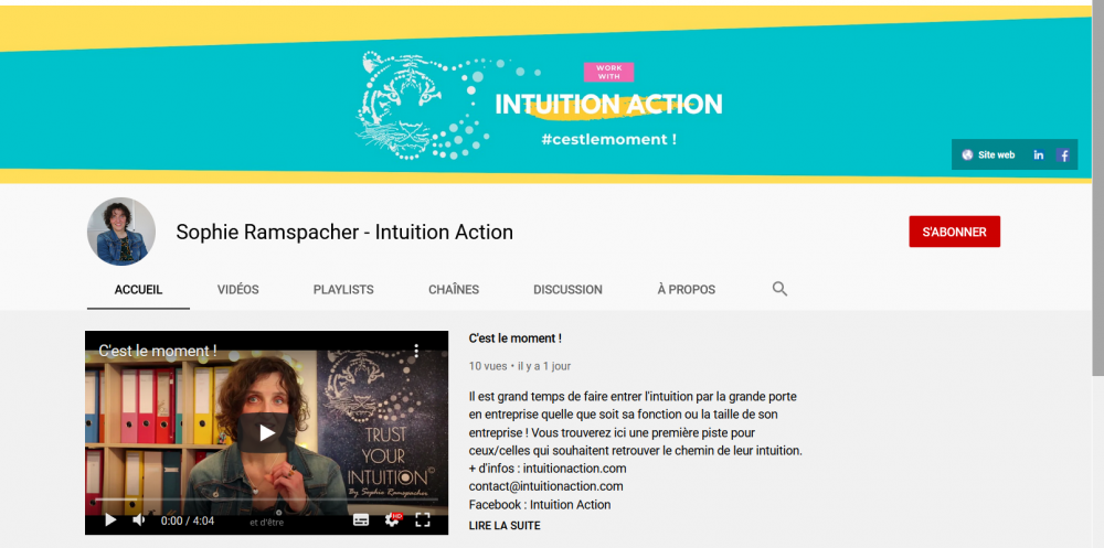 Intuition Action Sophie Ramspacher